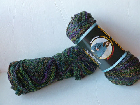 Lava Color Waves by Lion brand Yarn - Felted for Ewe