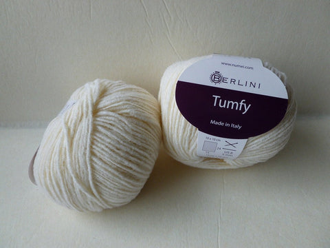 Creamy White Tumfy by Berlini - Felted for Ewe