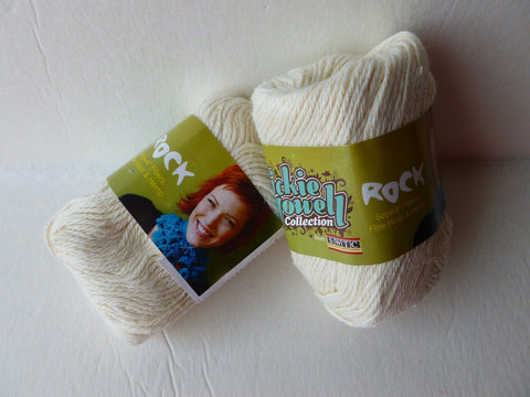 Cream  762 Rock by Vickie Howell - Felted for Ewe