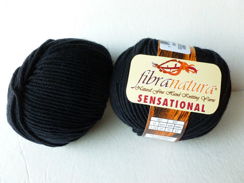 Black 40806 Sensational by Fibranatura - Felted for Ewe