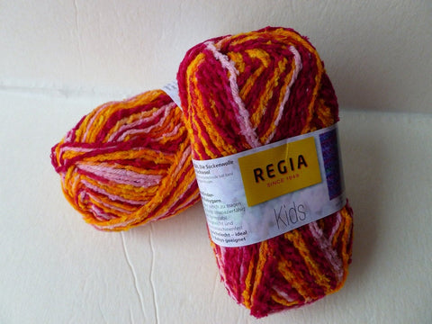 Lisa Kids by Regia, Nylon Wool Blend - Felted for Ewe