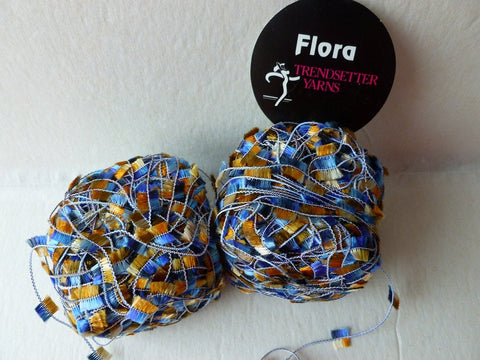 Blues and Tans  65  Flora by Trendsetter Yarns - Felted for Ewe