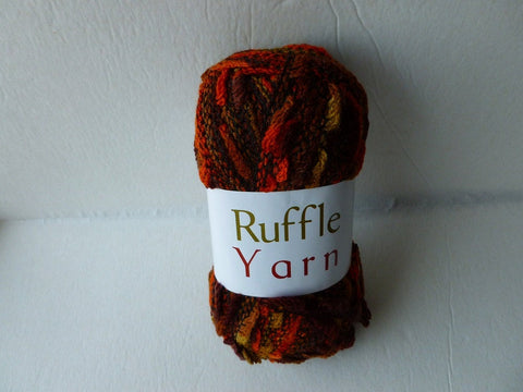 Autumn Ruffle Yarn by My World of Yarn - Felted for Ewe