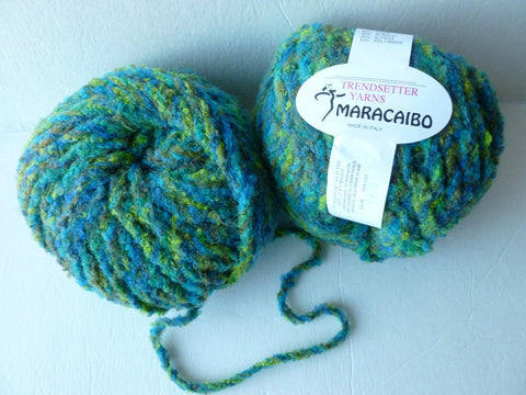 Green Maracaibo  04  by Trendsetter  Yarns - Felted for Ewe