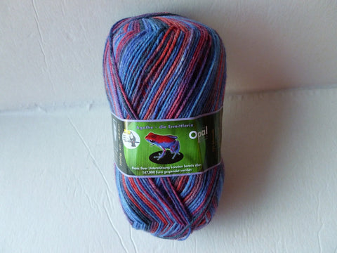 20% off Retail Agathe the Investigator 8975 Rainforest 11  Sock yarn by Opal - Felted for Ewe