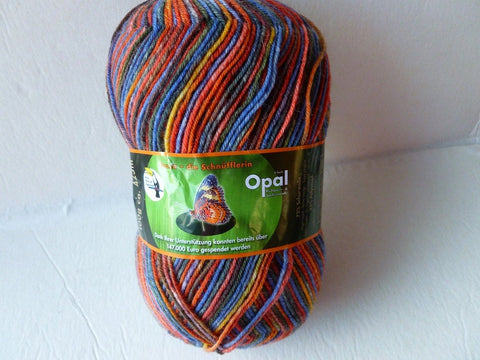 20% off Retail  Tessa the Mark 8977 Rainforest 11  Sock yarn by Opal - Felted for Ewe