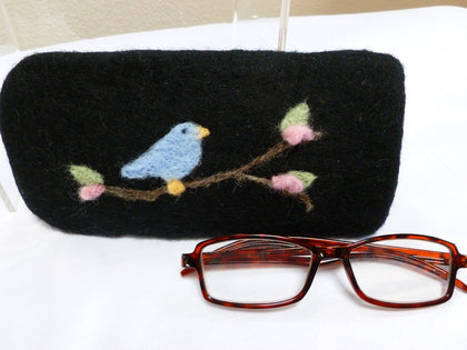 Felted Eyeglass Case - Felted for Ewe