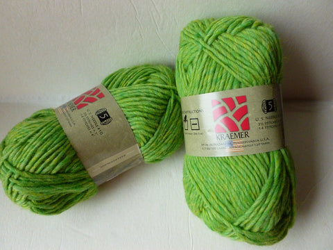 20% off Retail Kiwi Mauch Chunky by Kraemer Yarns, 100 gm Felting Wool - Felted for Ewe