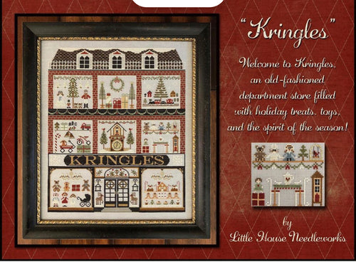 Kringles Cross Stitch Pattern by Little House Needleworks