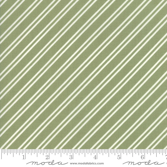 At Home - Leaf Stripe by Bonnie and Camille