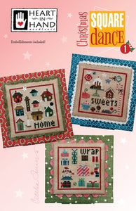 Christmas Square Dance 1  by Heart in Hand Needleart
