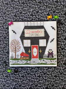 Spooky Hollow 4 - Coffin Shop by Little Stitch Girl