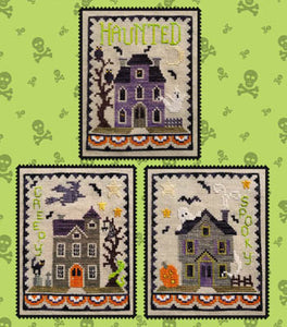 Haunted House Trio by Waxing Moon Designs