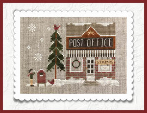 Hometown Holiday Series - Post Office by Little House Needleworks