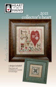 Collector's Heart 2021 by Heart in Hand Needleart