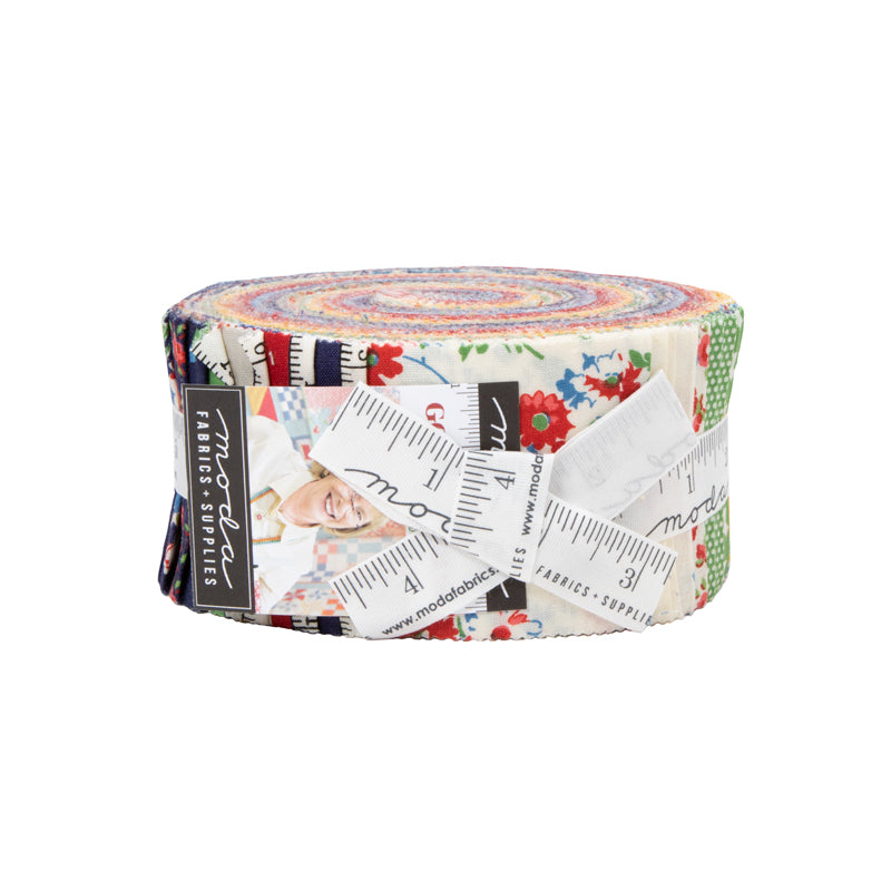 Good Times Jelly Roll by American Jane for Moda Fabrics