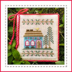 Welcome to the Forest 4 - Blue Forest Cottage by Country Cottage Needleworks