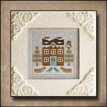 Load image into Gallery viewer, Frosty Forest 5 - Bluebird Cabin by Country Cottage Needleworks