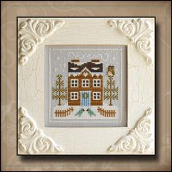 Frosty Forest 5 - Bluebird Cabin by Country Cottage Needleworks