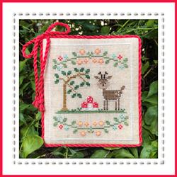 Welcome to the Forest 2 - Forest Deer by Country Cottage Needleworks