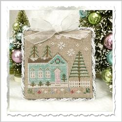 Glitter Village - Glitter House 7 by Country Cottage Needleworks