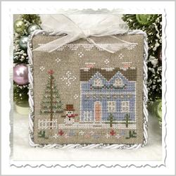 Glitter Village - Glitter House 9 by Country Cottage Needleworks