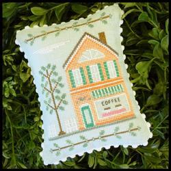 Main Street 4 - Coffee Shop by Country Cottage Needleworks