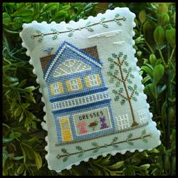 Main Street 6 - Dress Shop by Country Cottage Needleworks