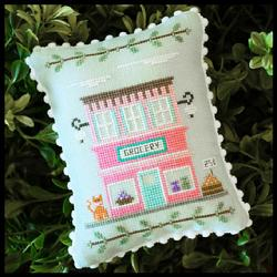 Main Street 8 - Grocery by Country Cottage Needleworks