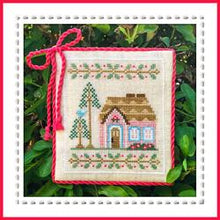 Load image into Gallery viewer, Welcome to the Forest 5 - Pink Forest Cottage by Country Cottage Needleworks