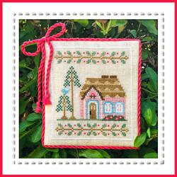 Welcome to the Forest 5 - Pink Forest Cottage by Country Cottage Needleworks