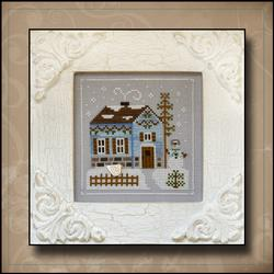Frosty Forest 7 - Snowgirl's Cottage by Country Cottage Needleworks