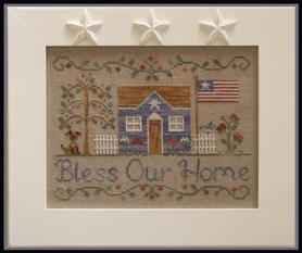 Bless Our Home by Country Cottage Needleworks