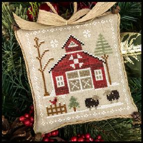 Farmhouse Christmas 9 - Baa Baa Black Sheep by Little House Needleworks