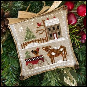 Farmhouse Christmas 4 - Dairy Darlin' by Little House Needleworks