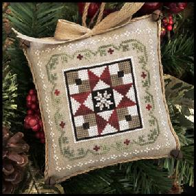 Farmhouse Christmas 5 - Grandma's Quilt by Little House Needleworks