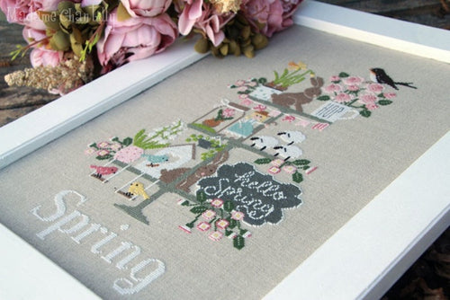 Celebrate Tiered Trays Stitch Along by Madame Chantilly - RESERVATION