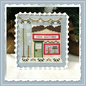 Snow Village 7 - Snow Boutique by Country Cottage Needleworks