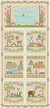 Load image into Gallery viewer, Welcome to the Forest 4 - Blue Forest Cottage by Country Cottage Needleworks