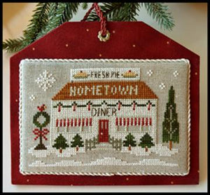 Hometown Holiday Series - The Diner by Little House Needleworks