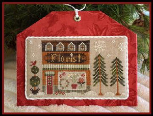 Hometown Holiday Series - The Florist by Little House Needleworks