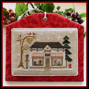 Hometown Holiday Series - The Pet Store by Little House Needleworks