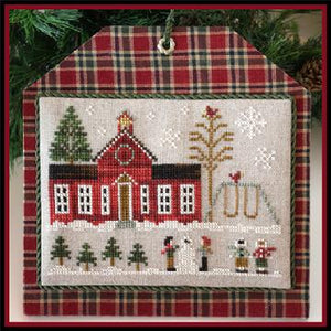 Hometown Holiday Series - Schoolhouse by Little House Needleworks