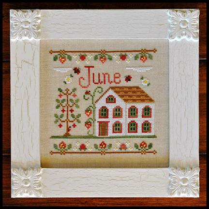 Cottage of the Month - June by Country Cottage Needleworks