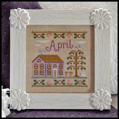 Cottage of the Month - April by Country Cottage Needleworks