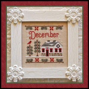 Cottage of the Month - December by Country Cottage Needleworks