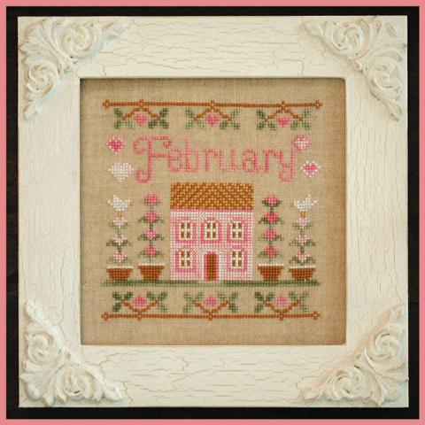 Cottage of the Month - February by Country Cottage Needleworks