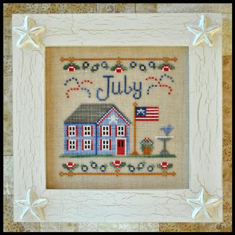 Cottage of the Month - July by Country Cottage Needleworks