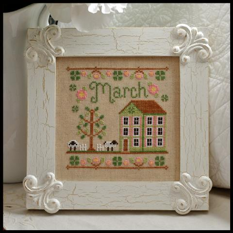 Cottage of the Month - March by Country Cottage Needleworks