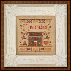 Cottage of the Month - November by Country Cottage Needleworks